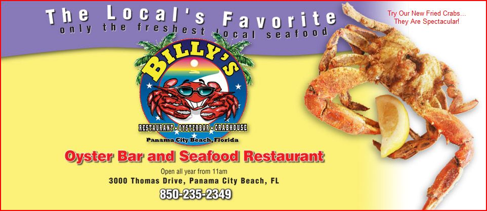 Billy's Oyster Bar and Seafood Restaurant - Panama City Beach