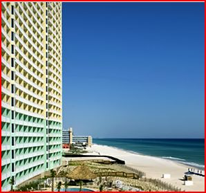 motels in panama city beach - emerald beach resort