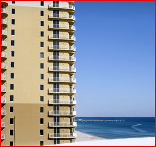 motels in panama city beach - tidewater beach resort